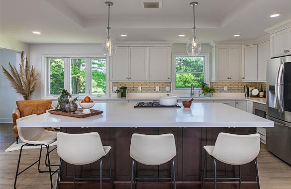 Fresh & Modern Kitchen