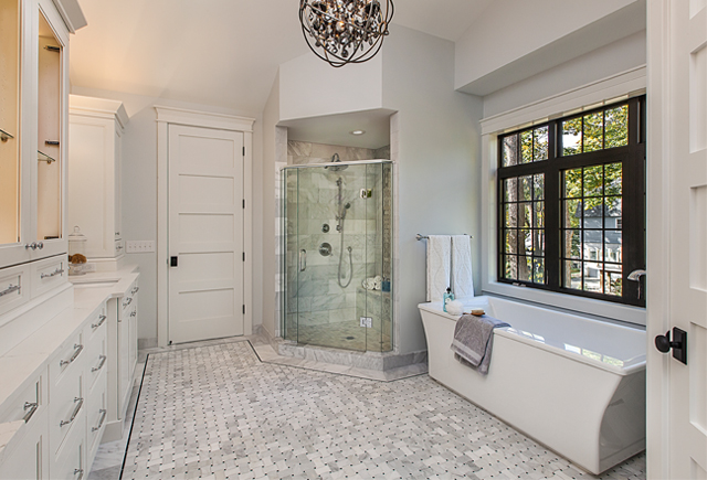 Spa Inspired Master Bath